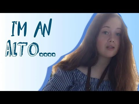 Funniest Original Musical song?  'I'm An Alto' - Emily Wilson