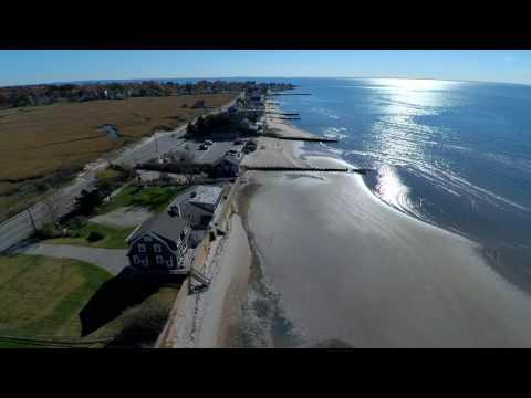 Old Saybrook Town Beach - Drone