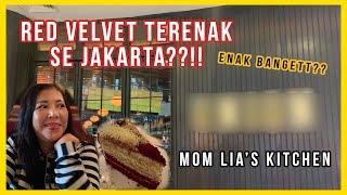 engbahasa ccvlog nyobain red velvet cake terenak se jakarta mom lias kitchen