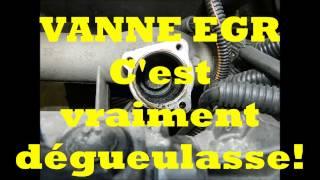 NETTOYAGE VANNE EGR 1.9 DCI 100