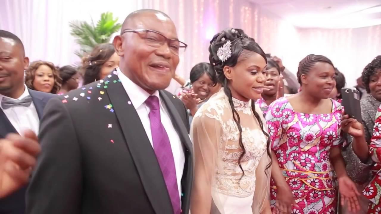 20ième Anniversaire De Mariage Couple Dinanga