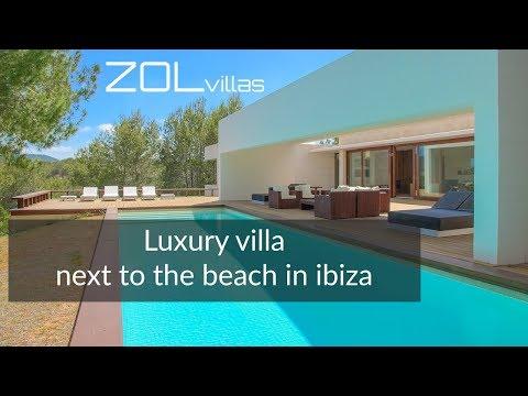 Luxury beach villa to rent in ibiza @ ZOL villas