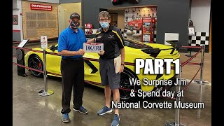 PART 1 ~ WE SURPRISE CUSTOMER @ CORVETTE MUSEUM for HIS 2020 C8 DELIVERY