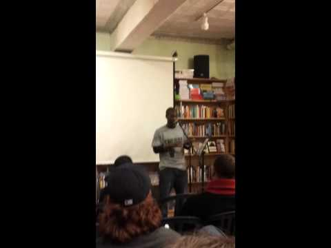 "John ""Mac"" Gaskins on Cops @ Bluestockings 2.11.12"