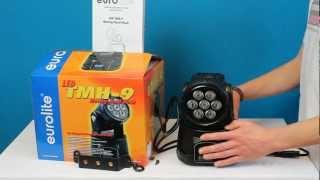 Produkttest Eurolite TMH- 9 Wash Moving Head