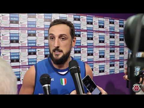 Basket Coach: Belinelli-Datome-Melli post partita Italia-Finlandia