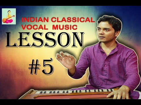 Learn Indian classical music vocal singing Lesson #5