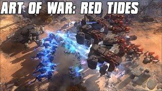Art of War: Red Tides Gameplay Battleship Assault
