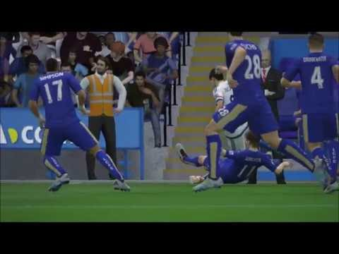 FIFA16 Sim LEICESTER CITY Vs CHELSEA (EFL Cup) 20th / Sep /2016