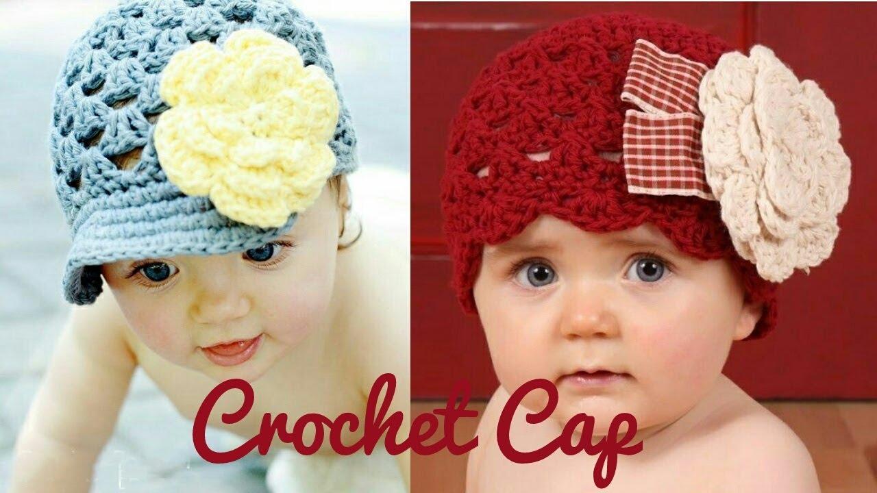 5d6c2028bc6 Beautiful Crochet Cap Designs For Kids