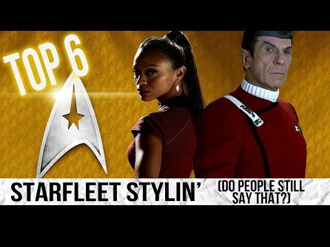 Top 6 Starfleet Uniforms
