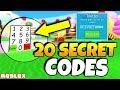 20 NEW *SECRET* ICE CREAM SIMULATOR HALLOWEEN CODES (Roblox Ice Cream Simulator Halloween)