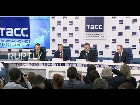 LIVE: Viktor Yanukovych holds press conference in Moscow