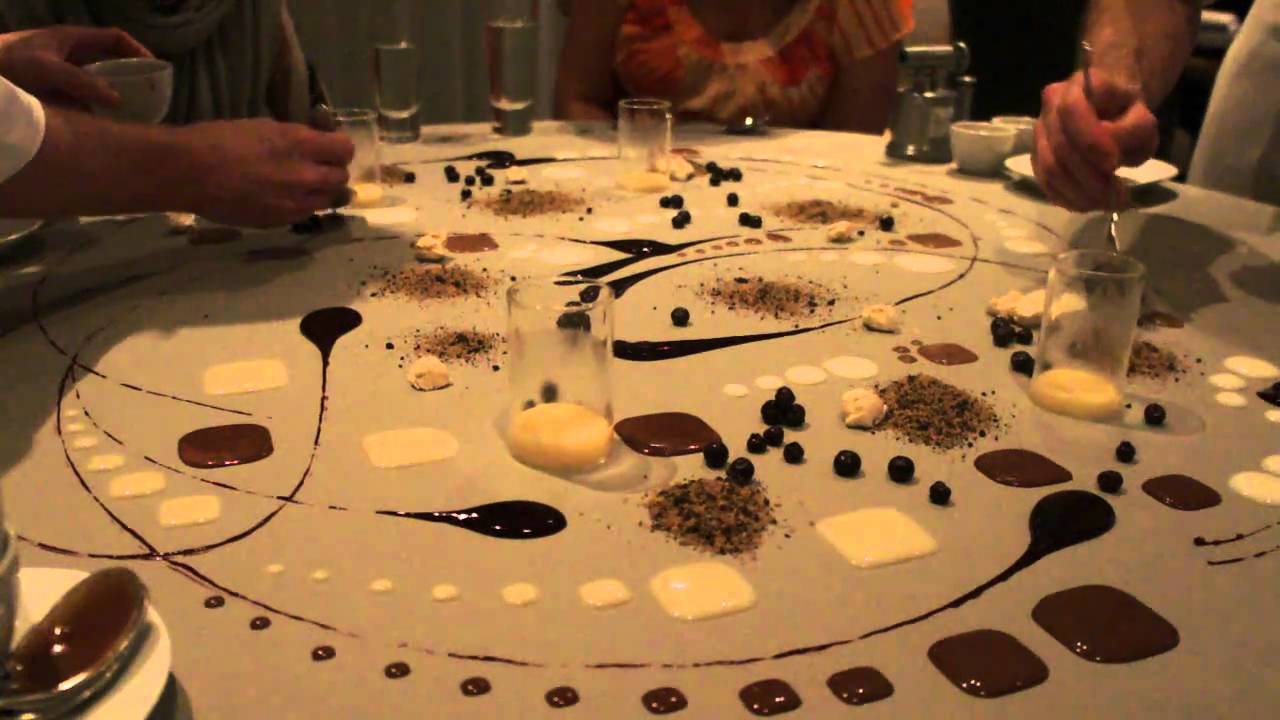 Cuisine 3d Alinea Final Dessert Of 20 Course Meal At Alinea