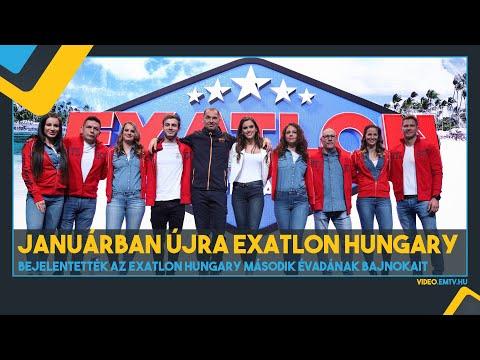Bejelentették az Exatlon Hungary második évadának Bajnokait