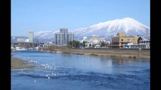 東北の春も、一歩ずつ確実に近づいています。。 春先の盛岡を走っている...