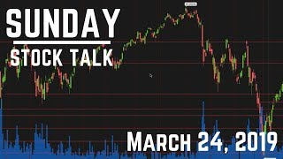 Sunday Stock Talk | March 24, 2019 | Day Trading Top Options in 2019