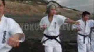 A video about a few techno karatekas of Japan... is a Group of musi...