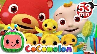 The Duck Hide and Seek Song + More Nursery Rhymes & Kids Songs - CoComelon