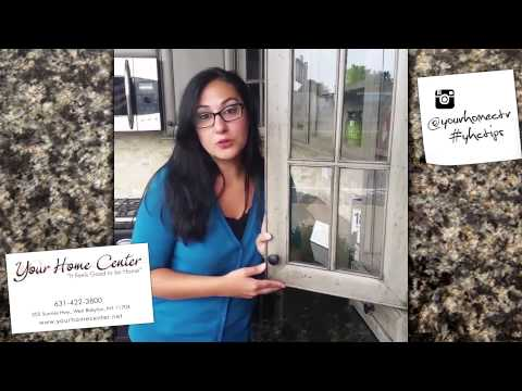 Add Glass to your Cabinet Doors  | Fifteen Second Tips by Your Home Center