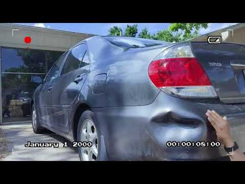 car bumper repair with hot water