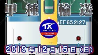 EF65 2127 + TX-3000系 甲種輸送 【8862レ】
