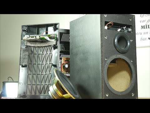 Look Inside Pioneer S-W110S Budget Subwoofer - What's Inside?