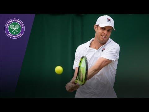 Wimbledon 2017 - Sam Querrey quickly wraps up win over Tsonga