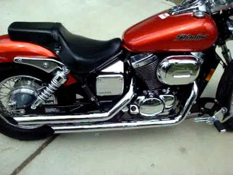 2006 Honda Shadow Spirit 750 for sale - YouTube