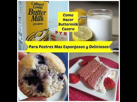 Cómo Hacer Buttermilk Casero y Económico! - Madelin's Cakes