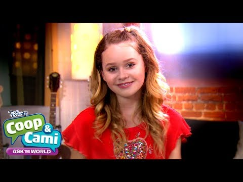 Hanging Out With Ruby Rose Turner | Coop & Cami Ask The World | Disney Channel