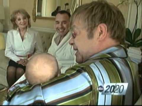 Elton John and David Furnish Loves Their Baby
