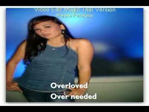 Over Loved-Paula DeAnda