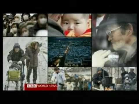 Japan 2011 Earthquake 35 - Uptake Day 8 - BBC News Reports 19.03.2011