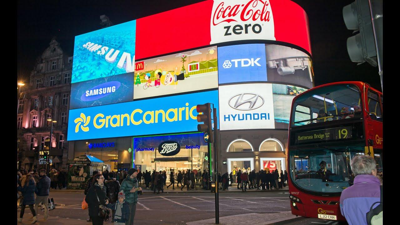 Gran canaria se promociona en la plaza piccadilly circus de londres youtube - Gran canaria tv com ...
