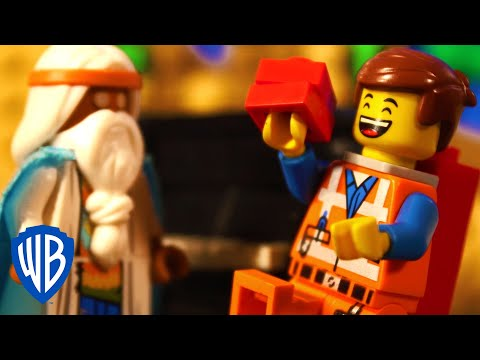 The LEGO Movie | Emmet Saves Bricksburg | WB Kids