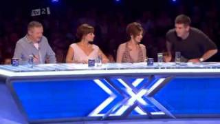 cheryl cole funniest xfactor audition ever!!! SUB 4 SUB
