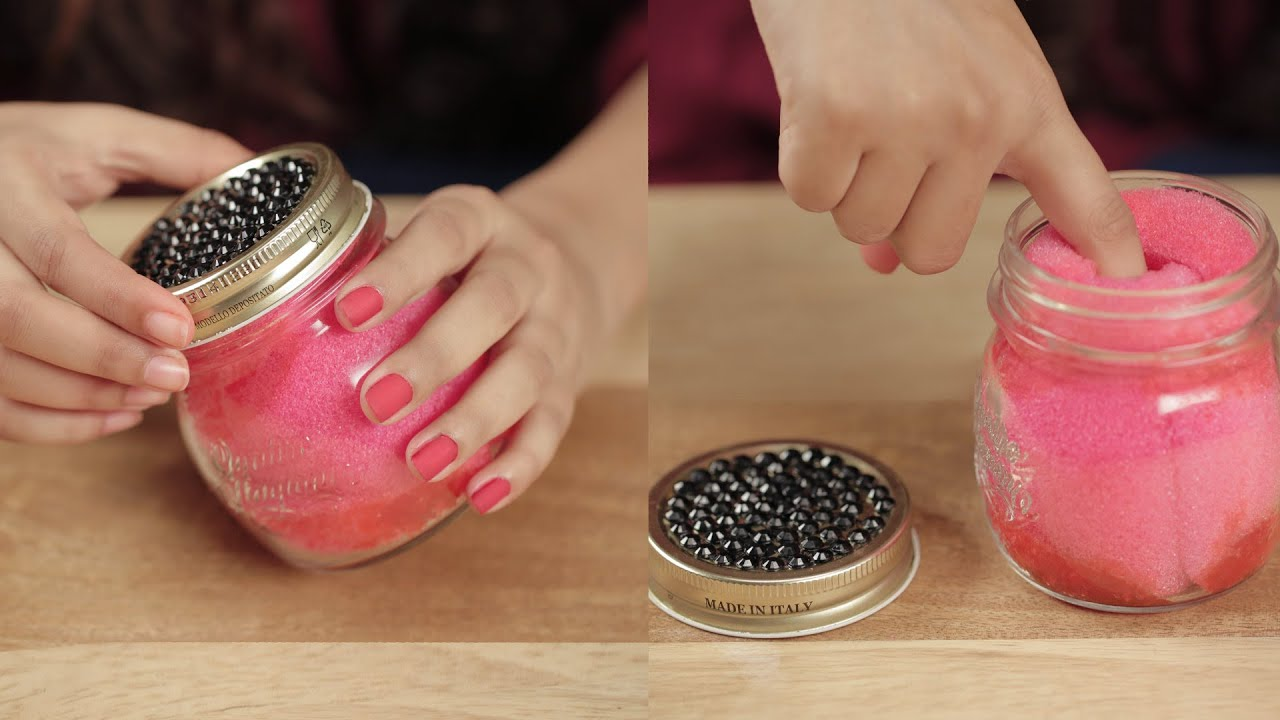 Dip And Twist Nail Polish Remover Jar - DIY - Glamrs - YouTube