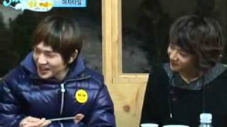 SHINee Funny Dinner and Age Swap Game