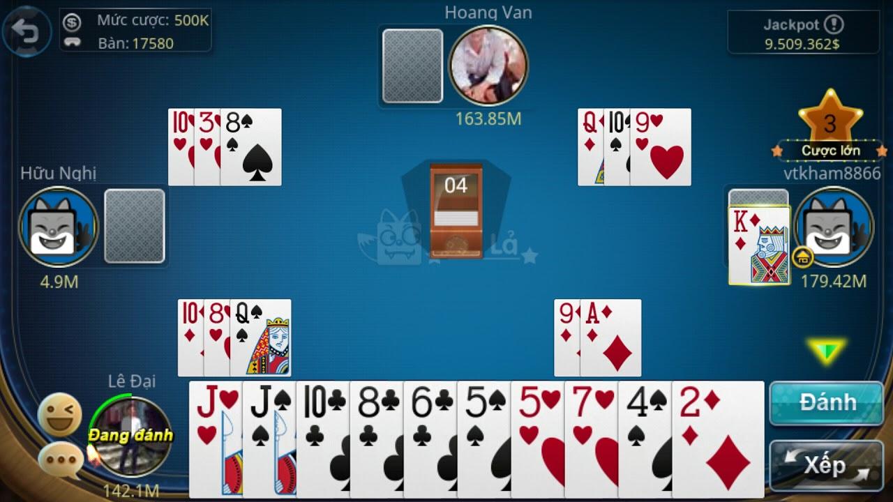 Game đánh bài trên Android