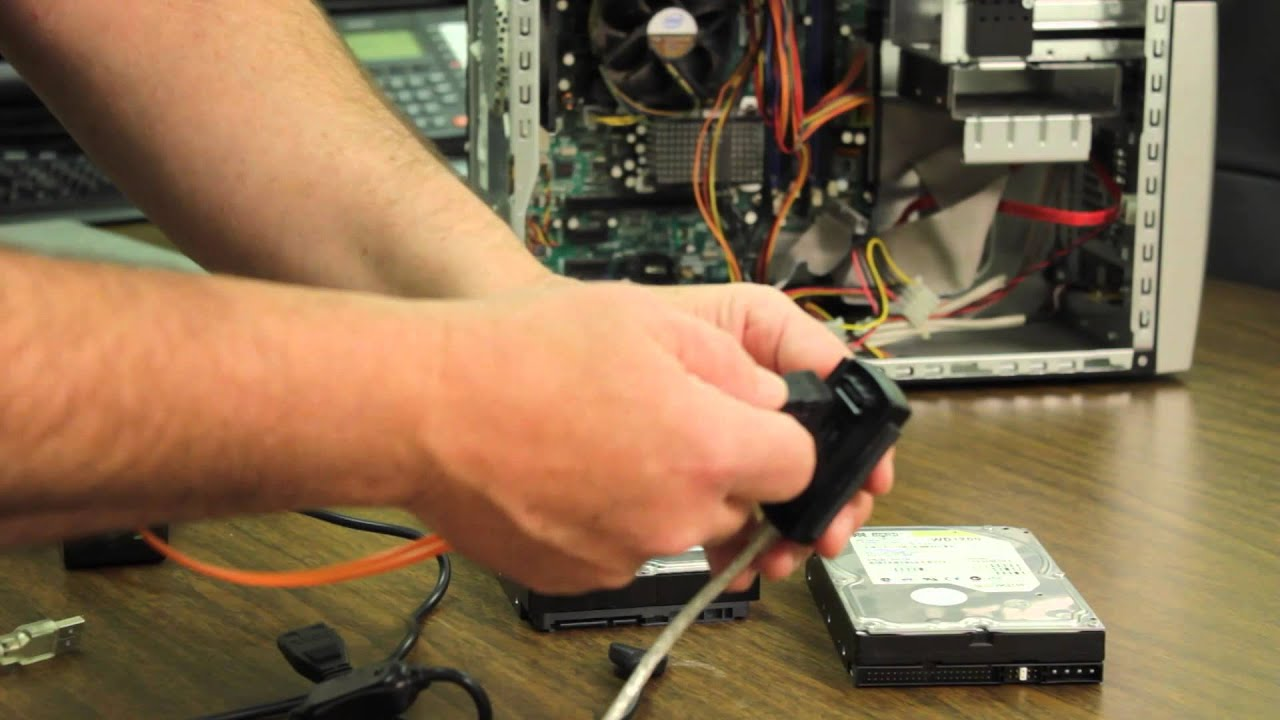 How To Use A Usb 2 0 To Sata-ide Cable   Computer Hardware Help  U0026 More