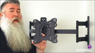 InstallerParts Episode 16 - Corner TV Wall Mount With Tilt And Swivel