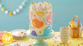 How to Make a Jellybean Star-Fill In Easter Cake | Wilton