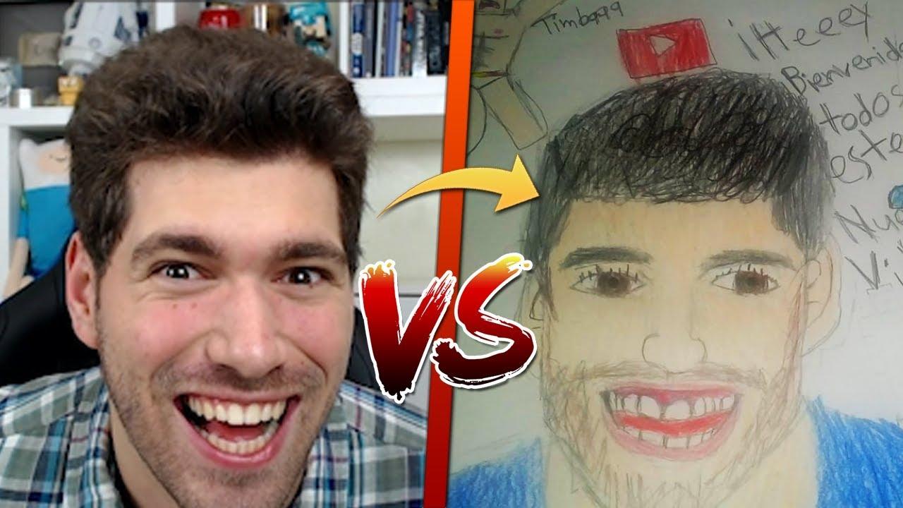 YOUTUBER VS CONCURSO DE DIBUJOS!! 😂 LOS MEJORES DIBUJOS
