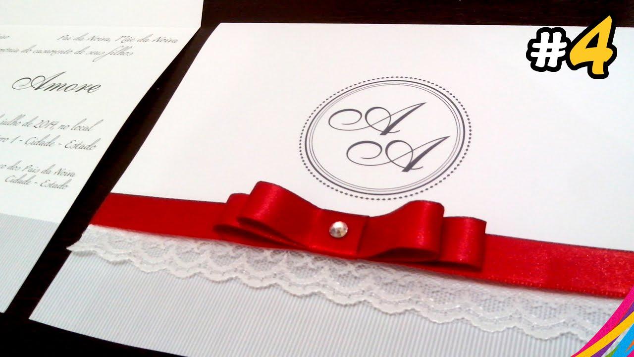 Convite de Casamento / Wedding Invitation / Invitacion de la Boda ...