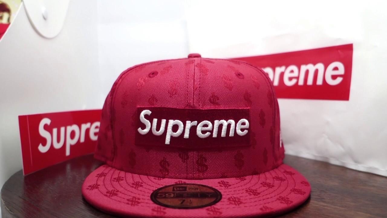 Supreme Monogram New Era 59fifty Cap - YouTube 36120c76ca7