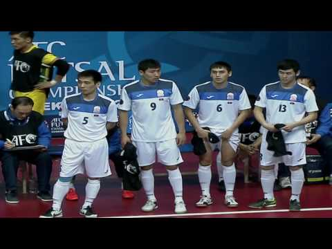 UZBEKISTAN VS KYRGYZSTAN (AFC-2016 FUTSAL) GROUP STAGE.