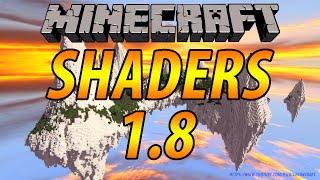 Как установить шейдеры на Minecraft 1.8