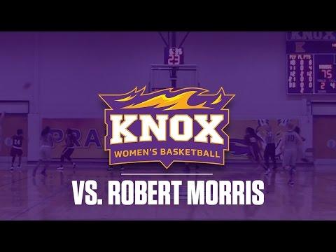 Knox College Women's Basketball vs Robert Morris Peoria 11-22-16