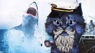 ОХОТА на АКУЛ в ROBLOX / SharkBite Alpha / КОТ ЛЕО